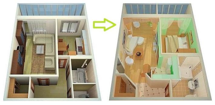 Покупка квартиры с перепланировкой - неузаконенной, в